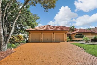 Coral Springs Single Family Home For Sale: 11922 Winged Foot Ter