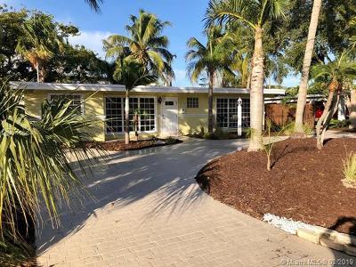 Pompano Beach Single Family Home For Sale: 2319 SE 13th St