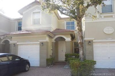 Doral Condo Sold: 8162 NW 107th Ct