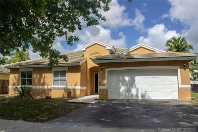 Miramar Single Family Home For Sale: 9023 SW 20th Pl