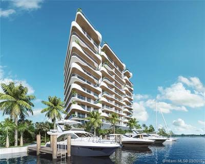 Miami Beach Condo For Sale: 6800 Indian Creek Dr #5B