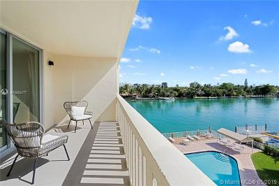 Bay Harbor Islands Condo For Sale: 9111 E Bay Harbor Dr #4D