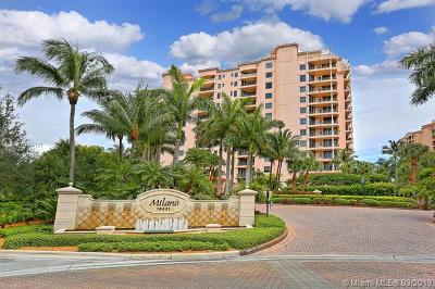 Coral Gables Rental For Rent: 13621 Deering Bay Dr #304