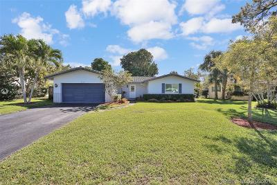 Coral Springs Single Family Home Active With Contract: 1579 NW 84th Dr