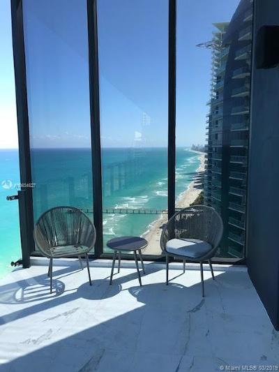 Sunny Isles Beach Rental For Rent: 17141 Collins Ave #3201