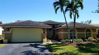 Coral Springs Single Family Home Active With Contract: 5381 NW 100th Ave