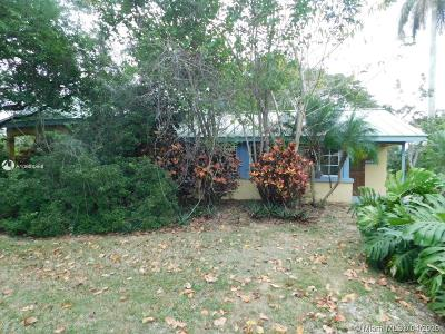 Homestead Single Family Home For Sale: 26350 SW 187th Ave