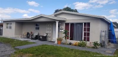 Miramar Single Family Home Active Under Contract: 7925 Normandy St