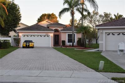 Pembroke Pines, Miramar Single Family Home For Sale: 17606 SW 10th St