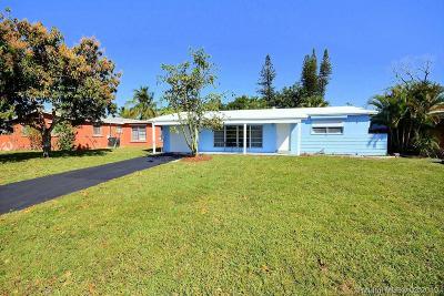 Miramar Single Family Home Sold: 7681 Tropicana St