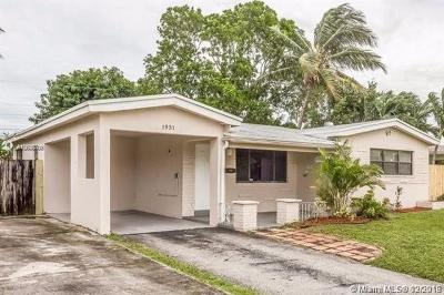 Miramar Single Family Home Sold: 1931 Alcazar Dr