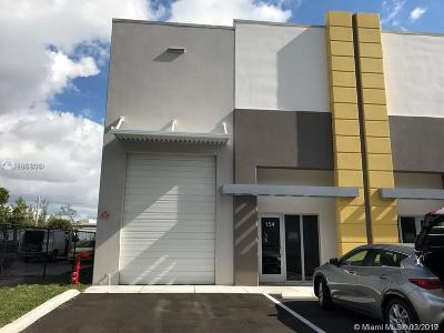 Sweetwater Commercial For Sale: 10889 NW 17 St #154