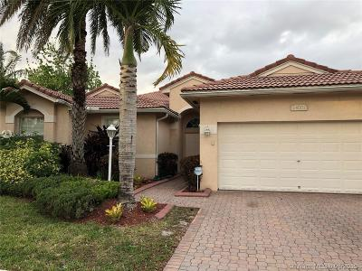 Pembroke Pines Single Family Home Active With Contract: 14001 NW 13th St