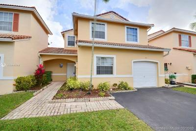 Pembroke Pines Single Family Home Sold: 965 SW 180th Ter