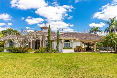 Lake Worth Single Family Home For Sale: 5238 Duckweed Rd