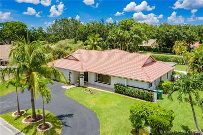 Coral Springs Single Family Home For Sale: 9133 NW 49th Pl