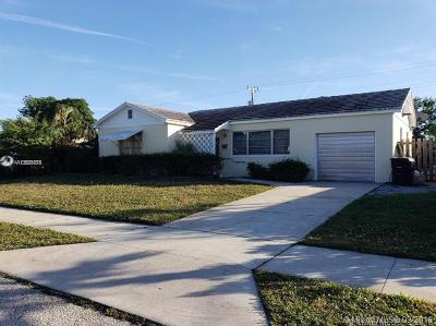 West Palm Beach FL Single Family Home For Sale: $299,000