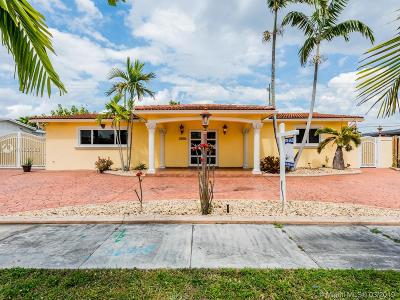 Hialeah Single Family Home Active With Contract: 7935 NW 171st St