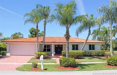Weston Single Family Home For Sale: 16720 Harbor Ct