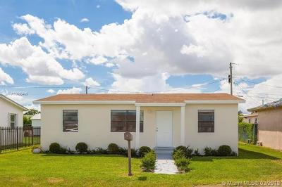Florida City Single Family Home For Sale: 1210 NW 8th Pl