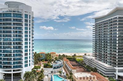 Miami Beach Condo For Sale: 5900 Collins Ave #1604