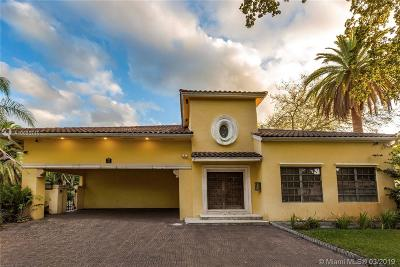 Coral Gables Single Family Home For Sale: 912 Ortega Ave