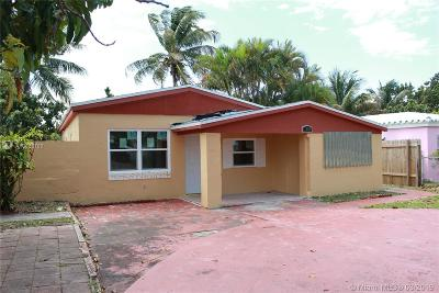 North Miami Beach Single Family Home Active With Contract: 1480 NE 173rd St