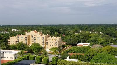 Coral Gables Rental For Rent: 1300 Ponce De Leon Blvd #1000