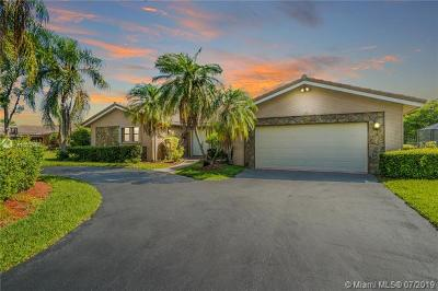 Coral Springs Single Family Home For Sale: 10093 NW 17th St