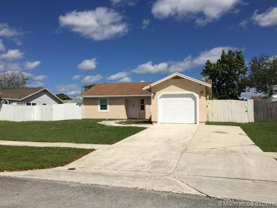 Royal Palm Beach Single Family Home For Sale: 10187 Patience Ln