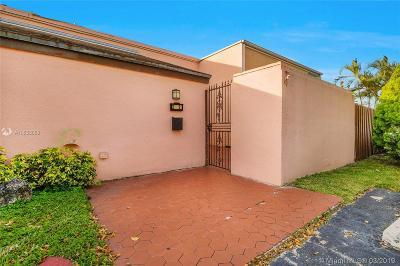 Miami Condo For Sale: 2512 SW 122nd Ct #X