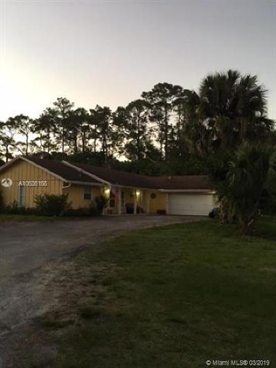 Palm Beach County Single Family Home For Sale: 15696 Ferris Lane