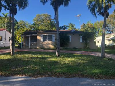 El Portal Single Family Home For Sale: 125 NW 88th St