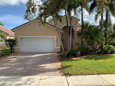 Miramar Single Family Home Active With Contract: 19156 SW 25th Ct