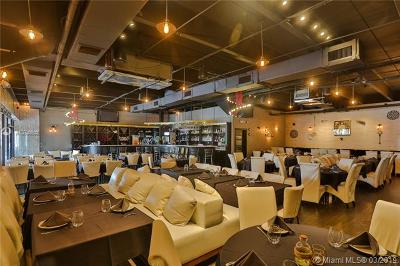 Sunny Isles Beach Business Opportunity For Sale: Restaurant Collins Ave