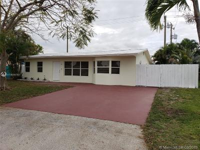 Pompano Beach Single Family Home For Sale: 2821 NE 7th Ter