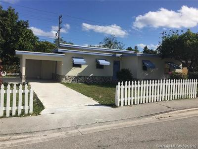 Palm Beach County Single Family Home For Sale: 620 N A