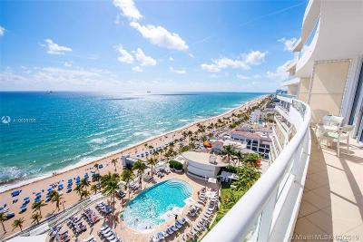 Fort Lauderdale Condo For Sale: 1 N Fort Lauderdale Beach Blvd #1706