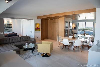 Miami Beach Rental For Rent: 1330 West Ave #2509