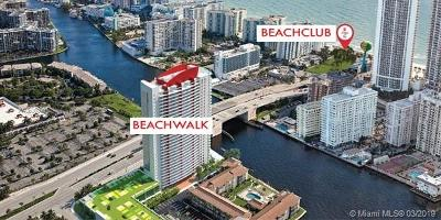 Beachwalk, Beachwalk Condominium, Beachwalk Condo Rental For Rent: 2600 E Hallandale Beach Blvd #T1201