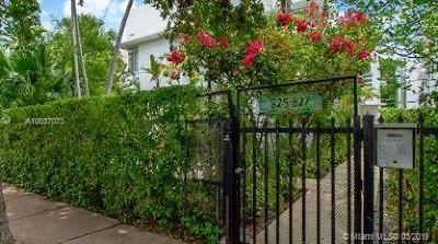 Miami Beach Single Family Home For Sale: 825 Jefferson Avenue