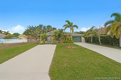 Jupiter Single Family Home For Sale: 6285 Pompano St
