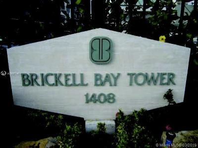 Brickell Bay Tower, Brickell Bay Tower Condo Rental For Rent: 1408 Brickell Bay Dr #416