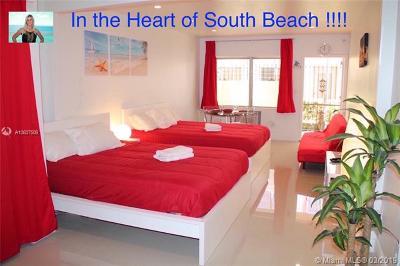 Miami Beach Condo For Sale: 719 Euclid Ave #5