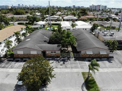 Hallandale Multi Family Home For Sale: 704 NE 8th St