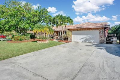 Coconut Creek Single Family Home For Sale: 3936 NW 22nd St