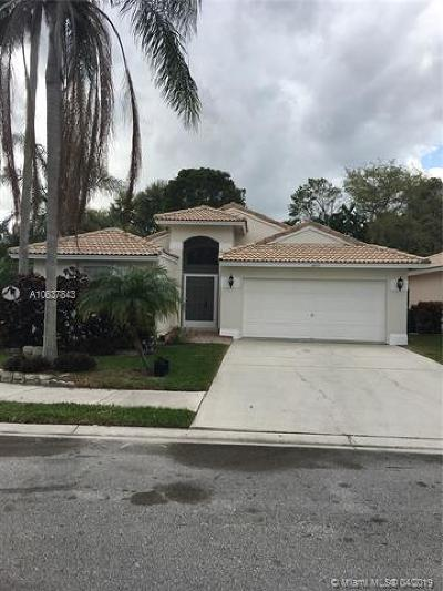 Coconut Creek Single Family Home For Sale: 6471 NW 41st Ter