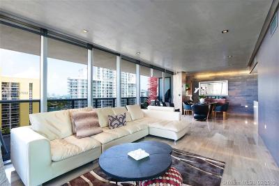 Miami Beach Condo For Sale: 5875 Collins Ave #1108
