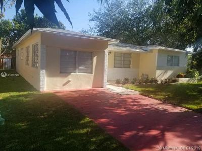 Miramar Single Family Home For Sale: 6801 SW 21st St