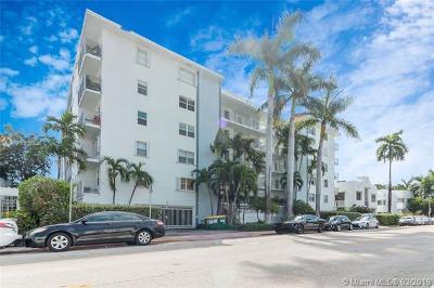 Miami Beach Condo For Sale: 1545 Euclid Ave #3G